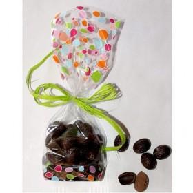 Petits Oeufs Chocolat Belge Noir Praliné Sans Sucre