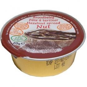 Crème de Cacao Noisettes Sans Sucre Portion Individuelle