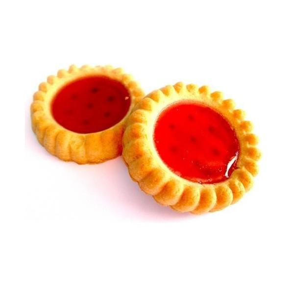 Biscuits Fourrés Fraise Sans Sucre Pour Diabétiques (Barquette 200gr)