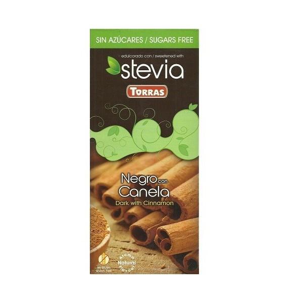 Tablette Chocolat Noir et Cannelle Sans Sucre