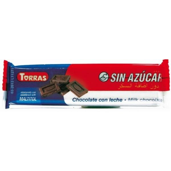 Barre Chocolat Lait Sans Sucre