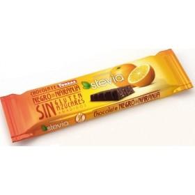 Barre Chocolat Noir et Orange Sans Sucre Stévia