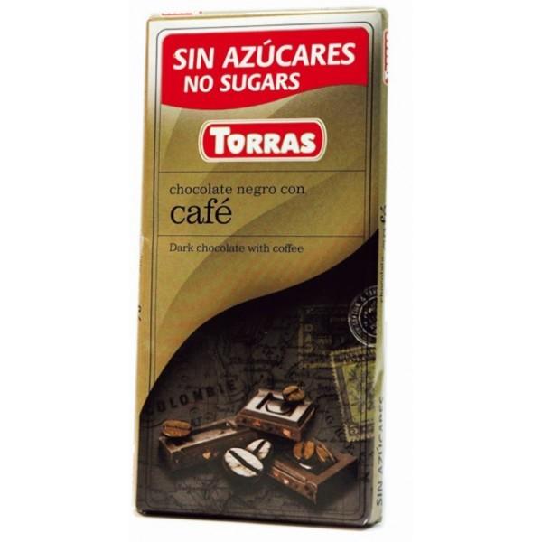 Tablette Chocolat Noir Café Sans Sucre