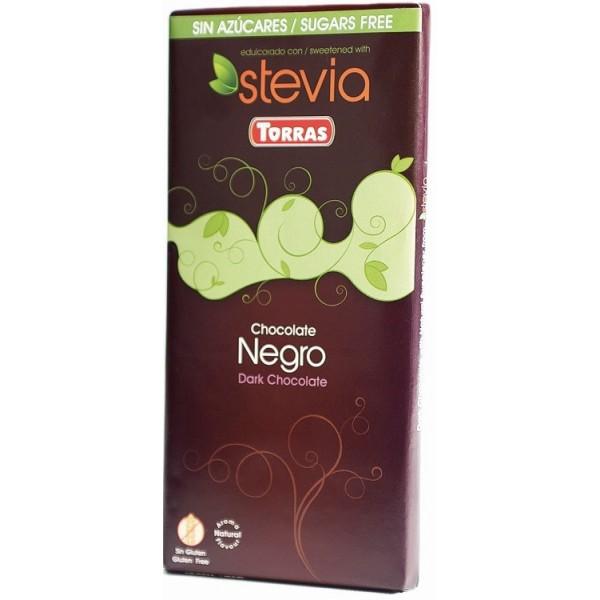 Tablette Chocolat Noir Sans Sucre Stévia