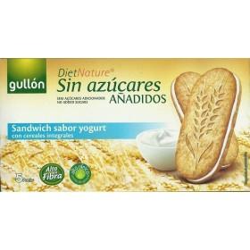 Biscuits Céréales Fourrés Crème Yaourt Sans Sucre
