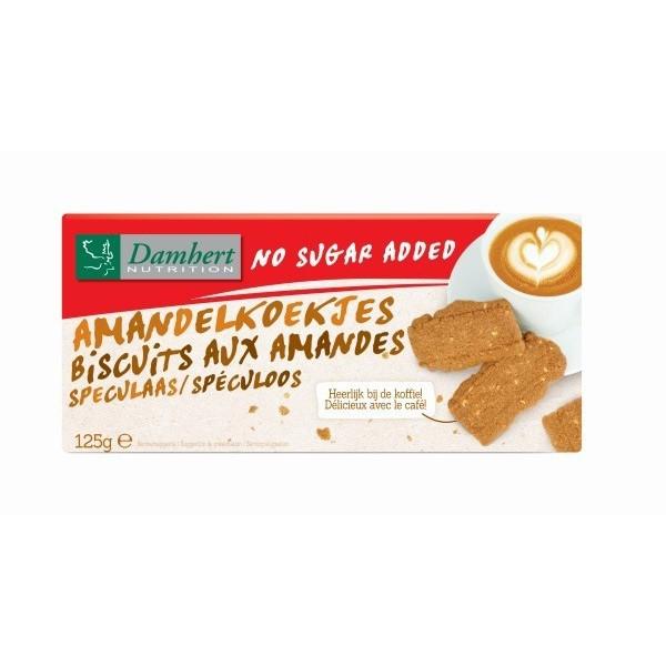 Biscuits aux amandes Spéculoos sans sucre pour diabétique