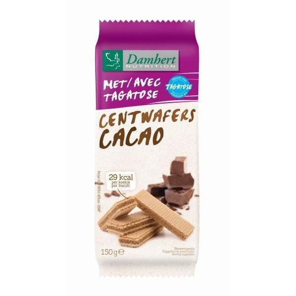 Gaufrettes Chocolat sans sucre à la Tagatose pour diabétique