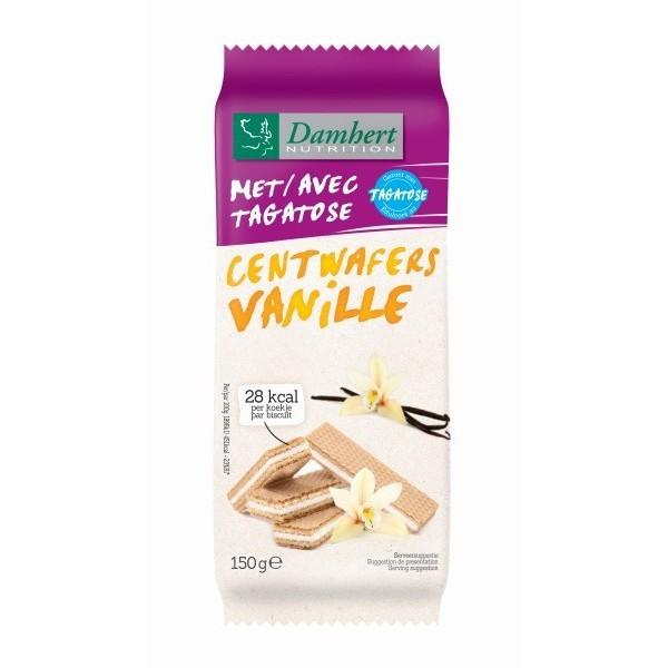 Gaufrette vanille sans sucre à la Tagatose pour diabétique