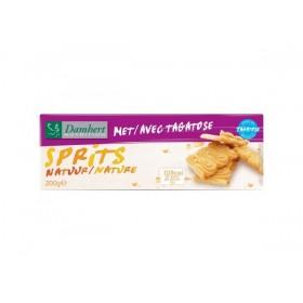 Biscuits Sprits natures sans sucre Tagatose pour diabétiques