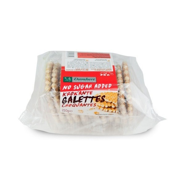 Galettes Croquantes Sans Sucre avec Édulcorant Pour Diabétiques
