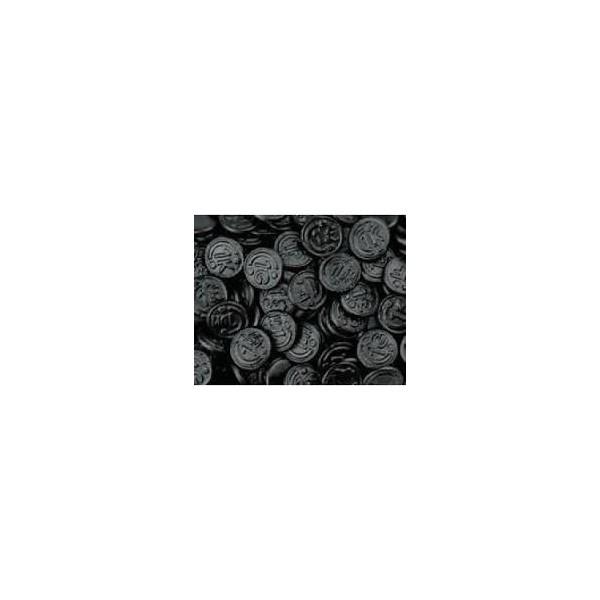 Gommes Réglisse Pièce Monnaie Sans Sucre avec Édulcorant 150g