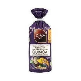 Biscottes Riz Complet et Quinoa Sans Sucre Sans Gluten 130g