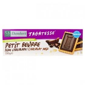 Petit Beurre Chocolat Noir Sans Sucre Tagatesse Pour Diabétique