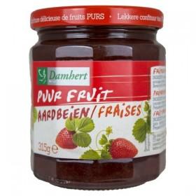 Confiture pur fruit à la fraise 315g D