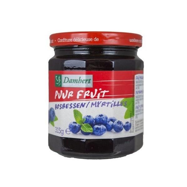 Confiture pur fruit myrtilles 315g D