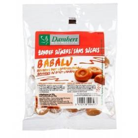 Babalu : Bonbons durs au beurre, Sans Sucre D