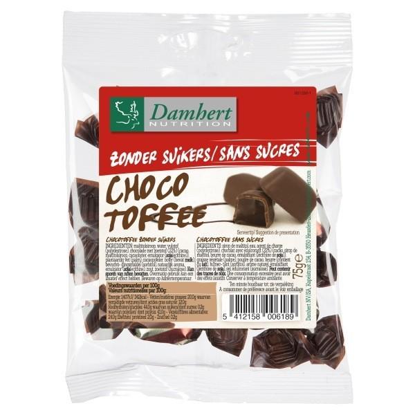 Choco Toffee: Bonbons au chocolat Sans Sucre D