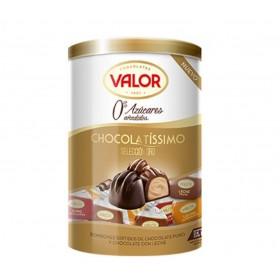Coffret de fins chocolat sans sucre pour diabétiques 200g - Vg