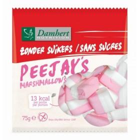 Marshmallows sans sucre avec édulcorant pour diabétique 82g D