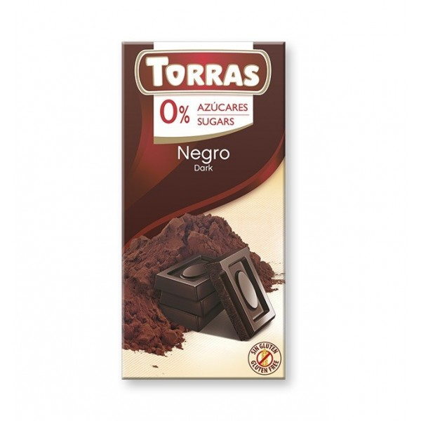 Tablette Chocolat Noir Sans Sucre ajouté T