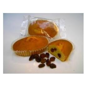 Boite de 8 P'tits Cakes Rhum Raisins Sans Sucre avec Édulcorant Pour Diabétique