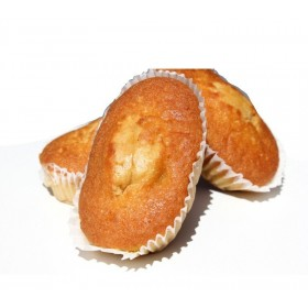 Boite de 8 P'tits Cakes Amandes Sans Sucre avec Édulcorant Pour Diabétique