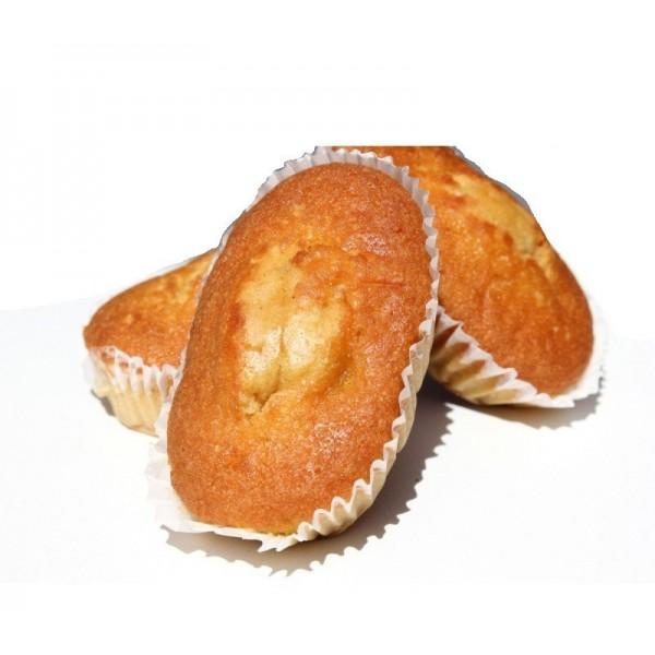 Boite de 8  P'tits Cakes Citron Sans Sucre avec Édulcorant Pour Diabétique