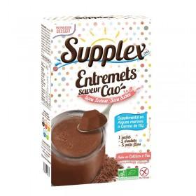 Flan Cacao Non Sucré Pour Diabétiques