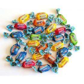 Bonbons Tendres5  Fruits Sans Sucre avec Édulcorant Pour Diabétiques