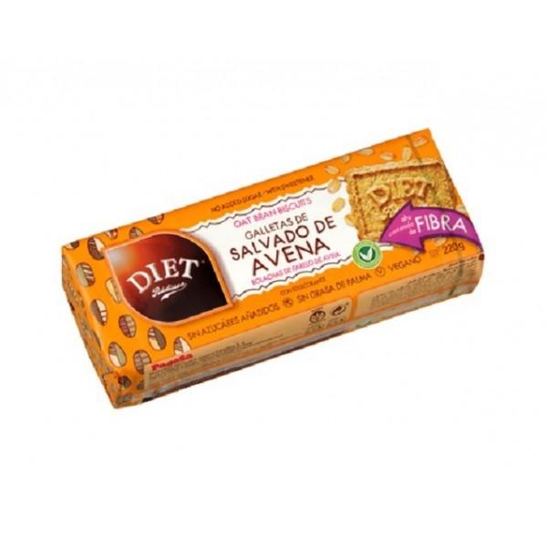 Biscuits Son d'Avoine Sans Sucre ajouté  220g -  DR