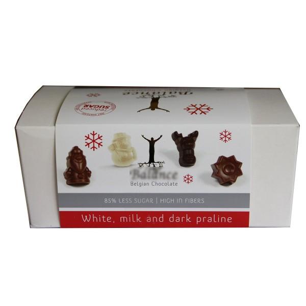 Ballotins de figurines chocolats sans sucre ajouté  140g - B
