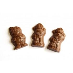 Figurines St Nicolas chocolats sans sucre ajouté  118g - B