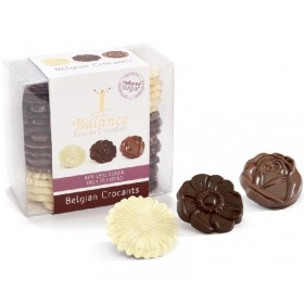 Coffret de fins chocolat belges sans sucre Bpour diabétiques 220g