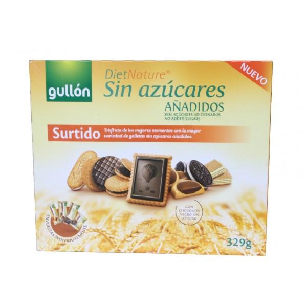 Assortiment de biscuits sans sucre ajouté 329g - G