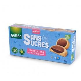 Tartelettes Fourrées Chocolat Noir Sans Sucre