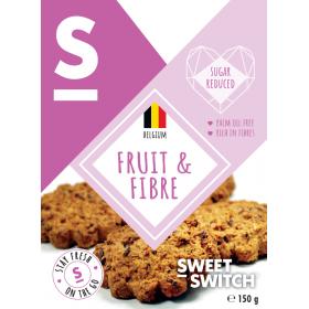 Biscuits fruit et fibre sans sucre ajouté pour diabétiques 150g SW