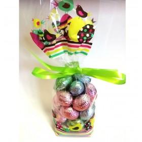 200g Melange de Petits Oeufs Chocolat  Praliné Sans Sucre pour diabétique