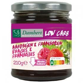 Confiture  fraises/ framboises sans sucre ajouté