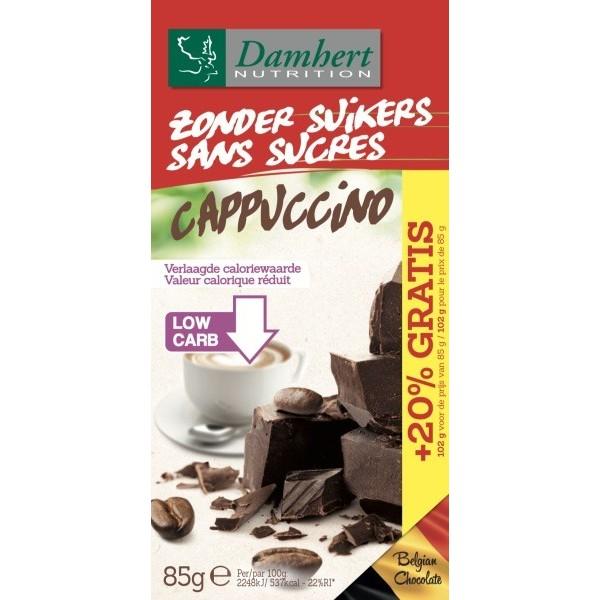 Tablette Chocolat Noir Cappuccino