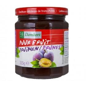 Confiture pur fruit à la prune 315 g - D