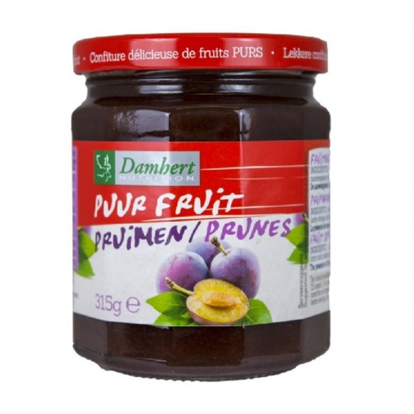 Confiture pur fruit à la prune 315 g - D