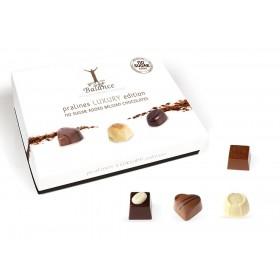 Coffret Luxe de fins chocolats sans sucre pour diabétiques 145g -   B
