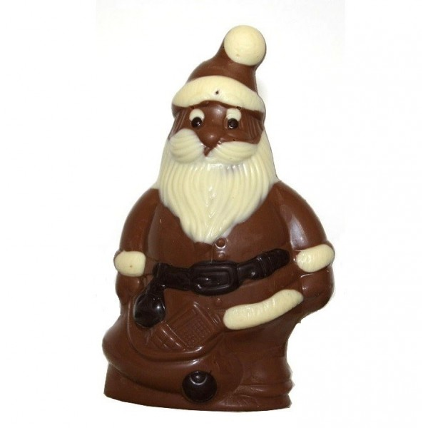 Père Noël en chocolatau lait  sans sucre pour diabétiques 120g - R