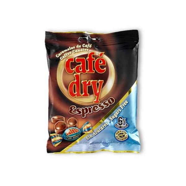 Bonbons Durs Cappuccino/Crème Sans Sucre avec Édulcorant D