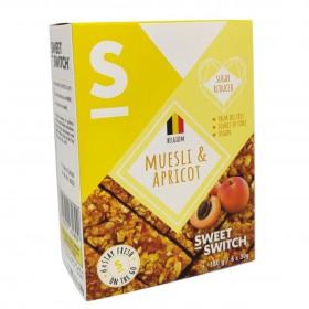 Barre céréales abricots muesli sans sucre ajouté