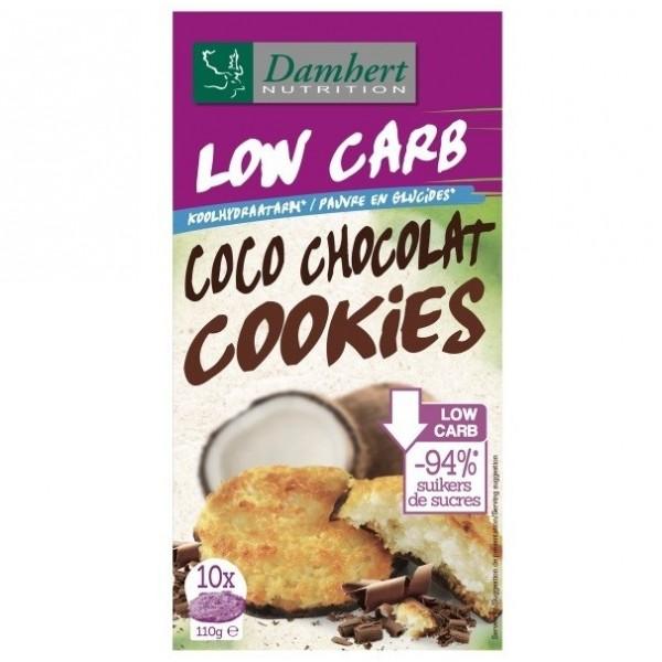 Cookies Coco Chocolat sans sucre ajouté 110g - D