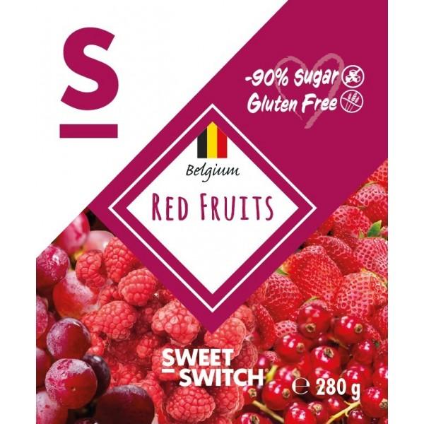Confiture fruits rouges sans sucre ajouté 280g - Sw