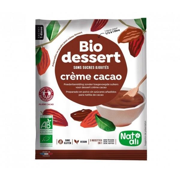 Creme dessert cacao