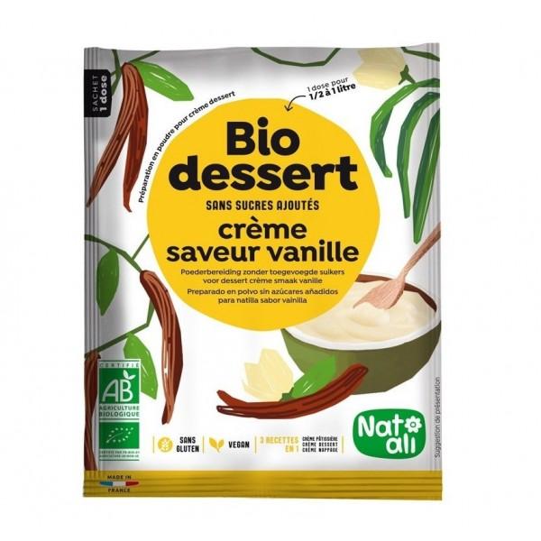 Creme dessert vanille