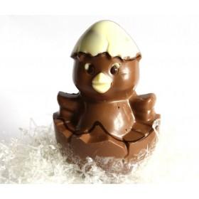 Poussin en chocolat au lait sans sucre ajouté pour diabétiques - R